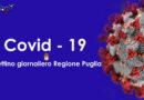 Bollettino Epidemiologico Regione Puglia 8 maggio 2021. Oggi registrati 979 casi positivi e 21 decessi