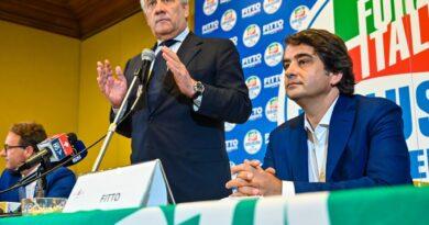 Regionali  2020, Conferenza stampa di Forza Italia a sostegno di Raffaele Fitto. Presentato il simbolo elettorale per la Puglia