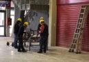 Cominciati i lavori per la realizzazione del nuovo reparto di terapia intensiva Covid all'interno dei padiglioni della Fiera del Levante di Bari.
