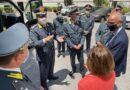 Presentata Ambulanza della Guardia di finanza acquistata con fondi della Regione Puglia.