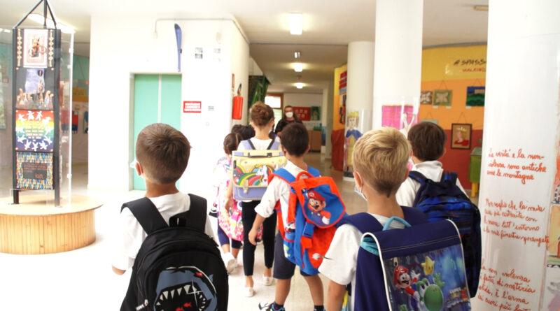 Primo giorno di Scuola per i Bambini del XIV Circolo Didattico Re David di Bari