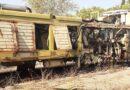 Deposito di rifiuti speciali pericolosi nella pineta  nei pressi della stazione ferroviaria di Putignano