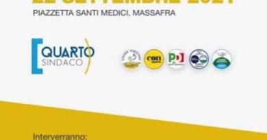 Elezioni amministrative 2021 CON presenta la sua lista a Massafra