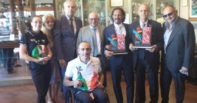 """Conclusa con successo la sesta edizione del  """"Premio Nikolaos dello Sport Città di Bari"""""""